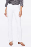 Marilyn Straight Pull-On Jeans - OPTIC WHITE