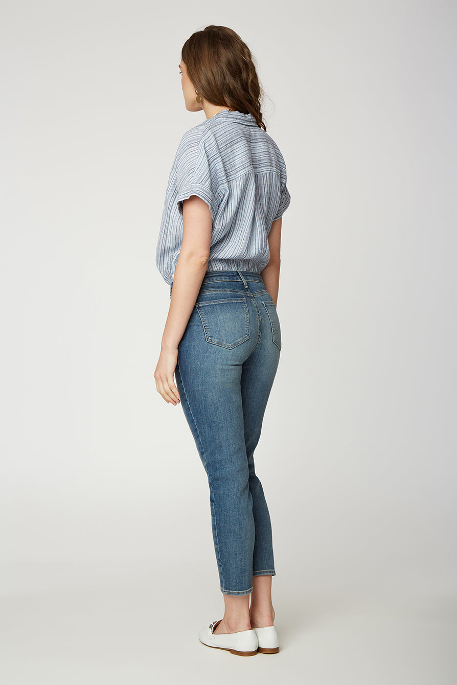 Easy Fit Skinny Jeans - CLAYBURN