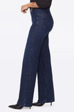 Wide Leg Pull-On Jeans - CLEAN DENSLOWE