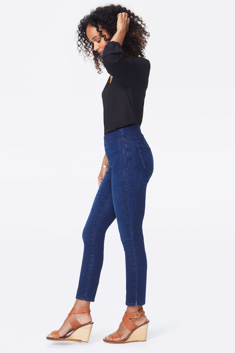 Skinny Ankle Pull-On Jeans - COOPER