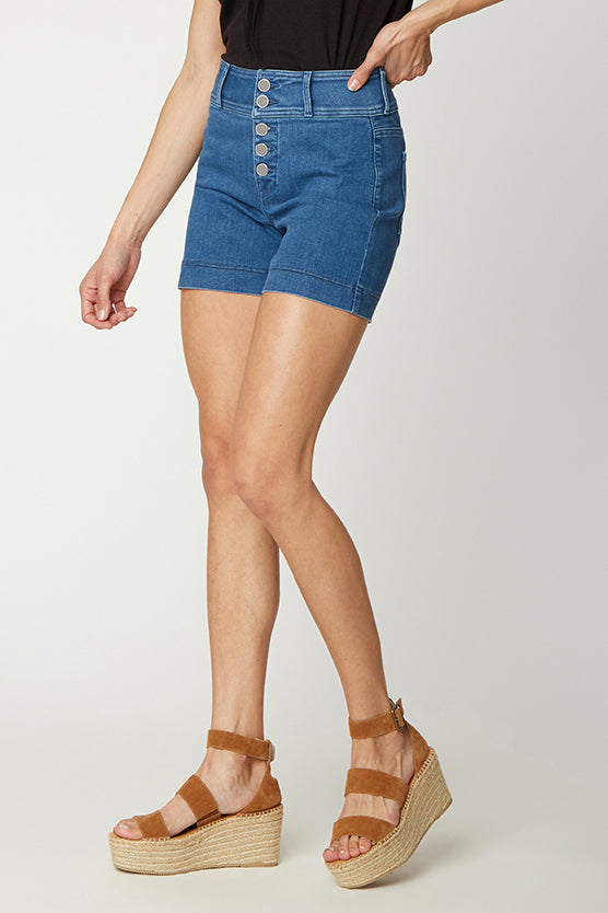 5 Inch Jean Shorts - MELROSE
