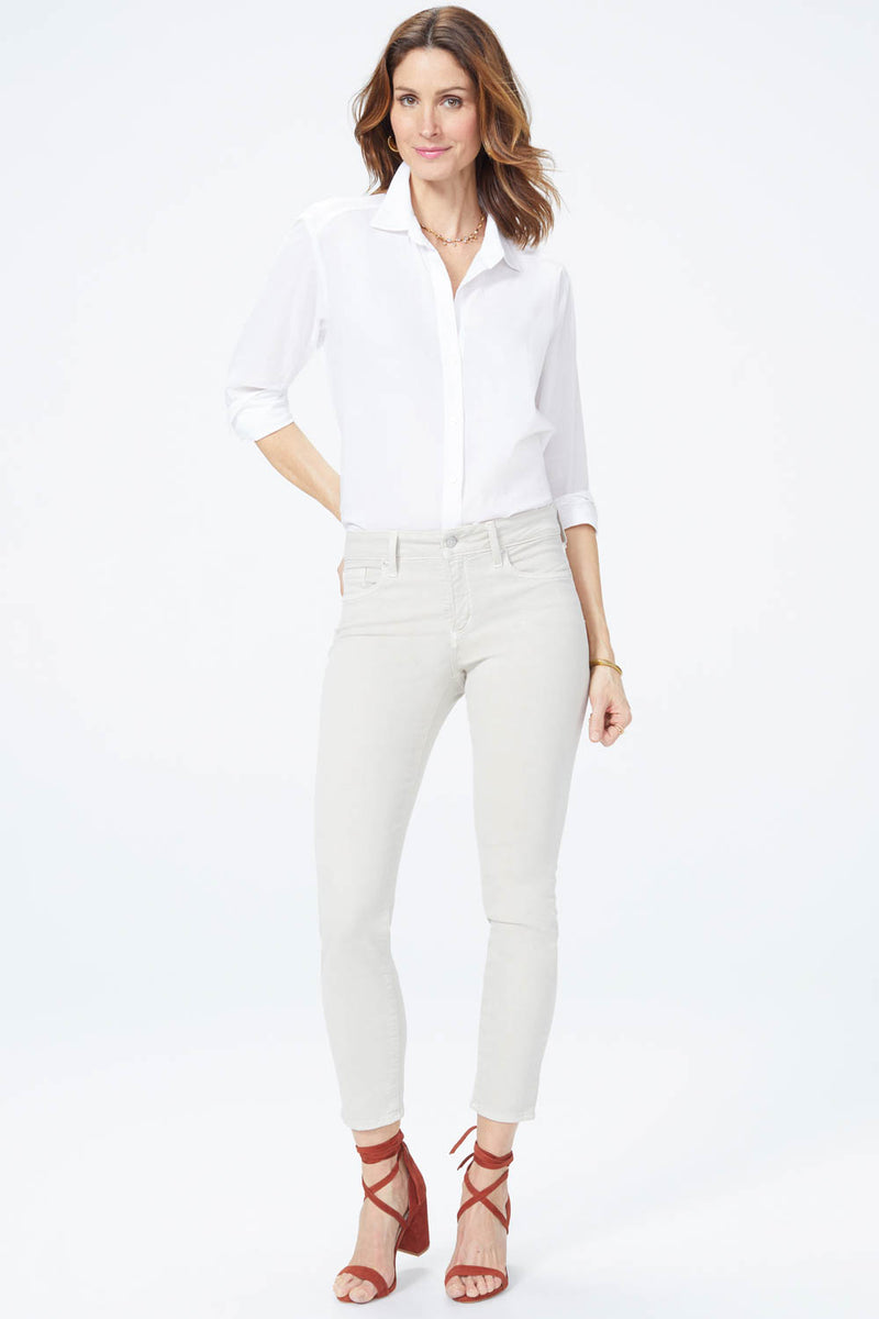 Alina Skinny Ankle Jeans - FEATHER