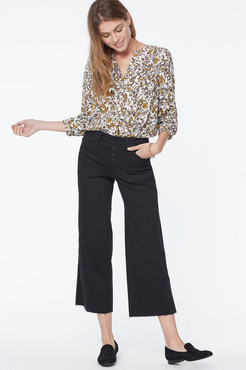 Teresa Trouser Ankle Jeans - BLACK