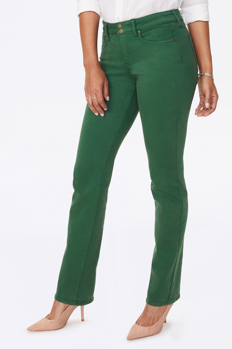 Marilyn Straight Pants - PINENEEDLE