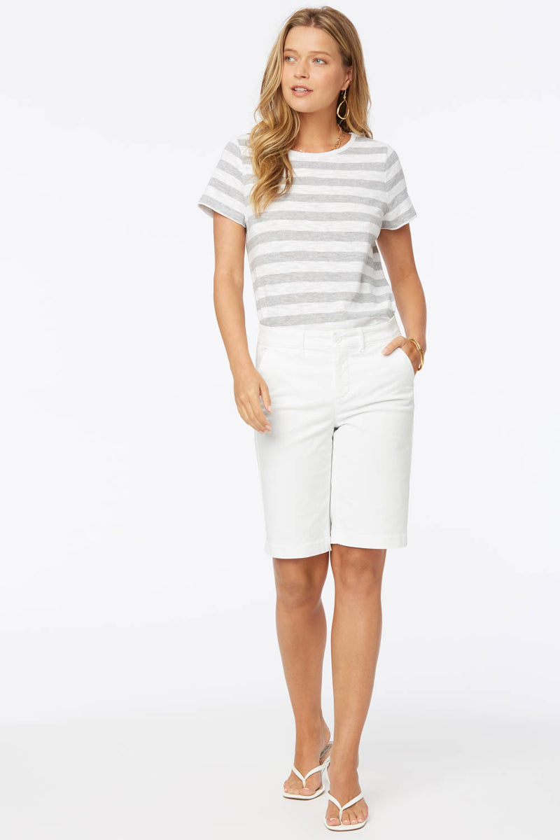 Bermuda Shorts - OPTIC WHITE