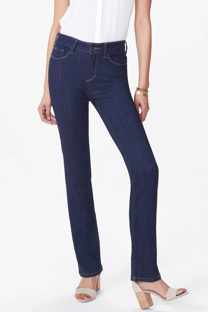 Marilyn Straight Jeans In Petite - MABEL