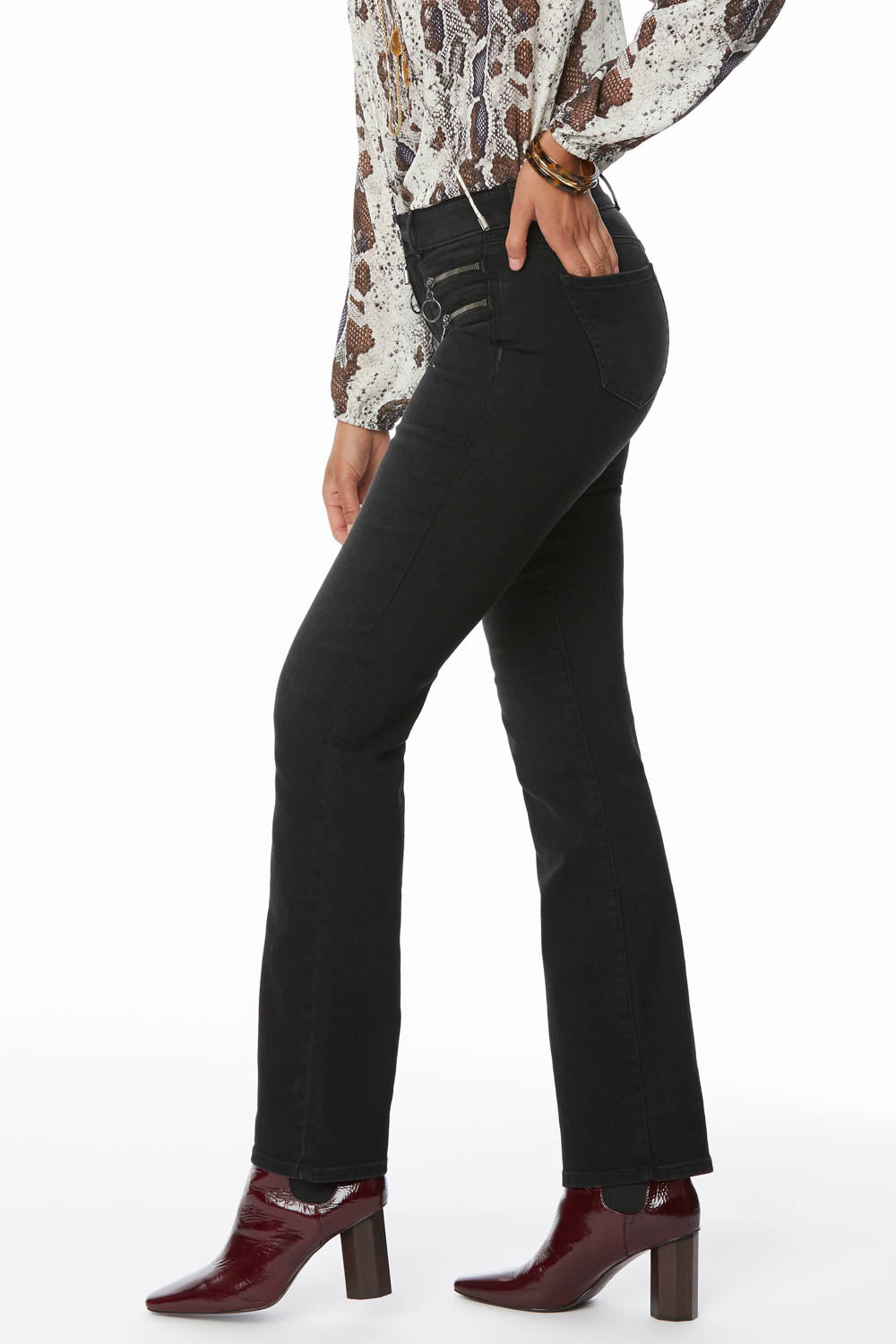 Marilyn Straight Jeans In Petite - GLORY