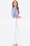 Marilyn Straight Pull-On Jeans In Petite - OPTIC WHITE