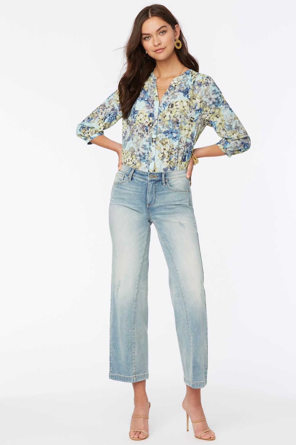 Teresa Trouser Ankle Jeans In Petite - Radiance