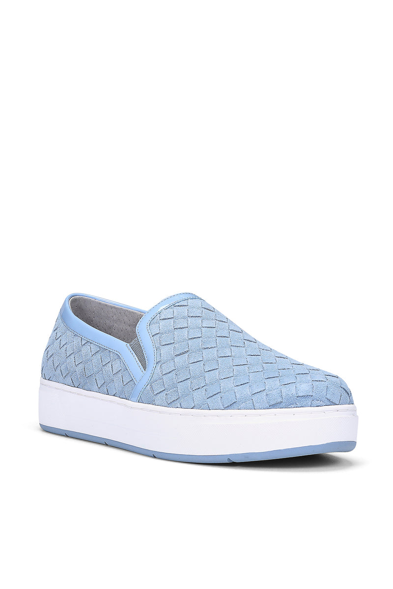 Rally Calfsuede Slip-On Sneaker - Denim