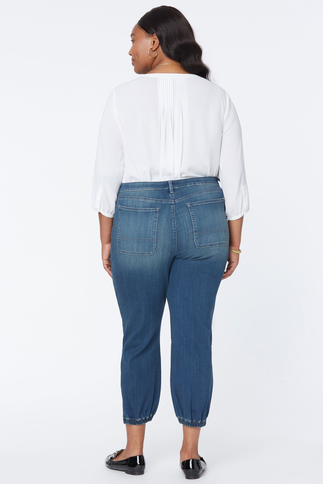 Jogger Ankle Jeans In Plus Size - CLEAN BALANCE