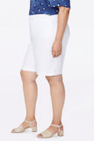 Bermuda Shorts In Plus Size - OPTIC WHITE