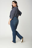 Marilyn Straight Jeans In Plus Size - SOLANA