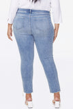 Sheri Slim Ankle Jeans In Plus Size - COHEED