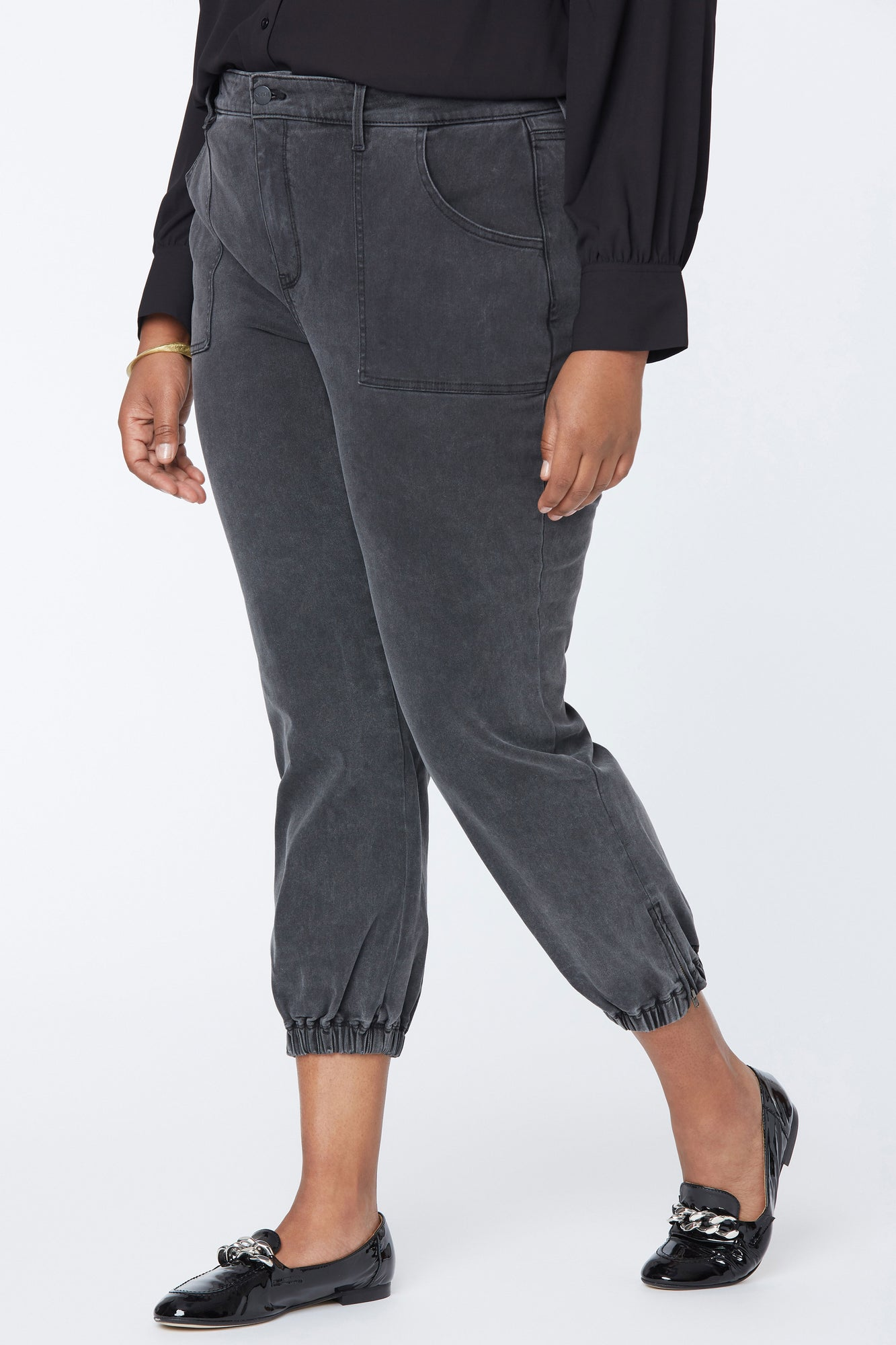 Jogger Jeans In Plus Size - VICTORIOUS