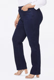 Relaxed Straight Jeans In Plus Size - BIXBY