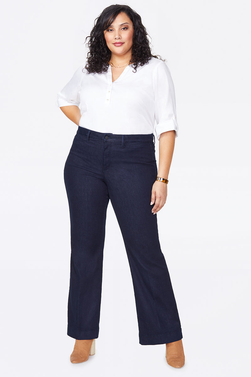Teresa Trouser Jeans In Plus Size - RINSE