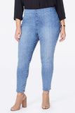 Skinny Ankle Pull-On Jeans In Plus Size - AQUINO