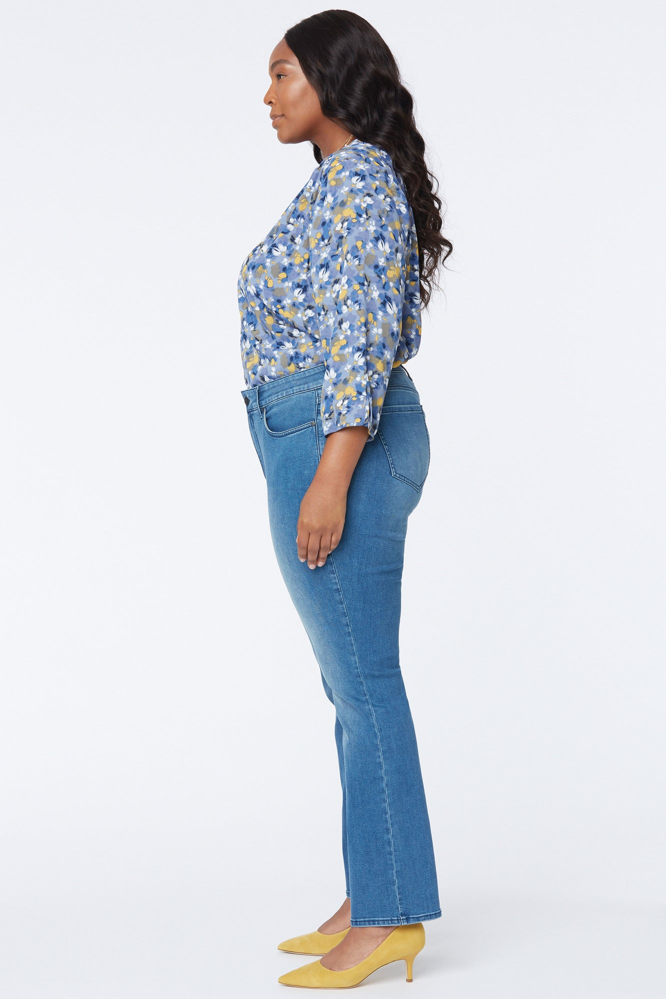Marilyn Straight Jeans In Plus Size - ADMIRATION
