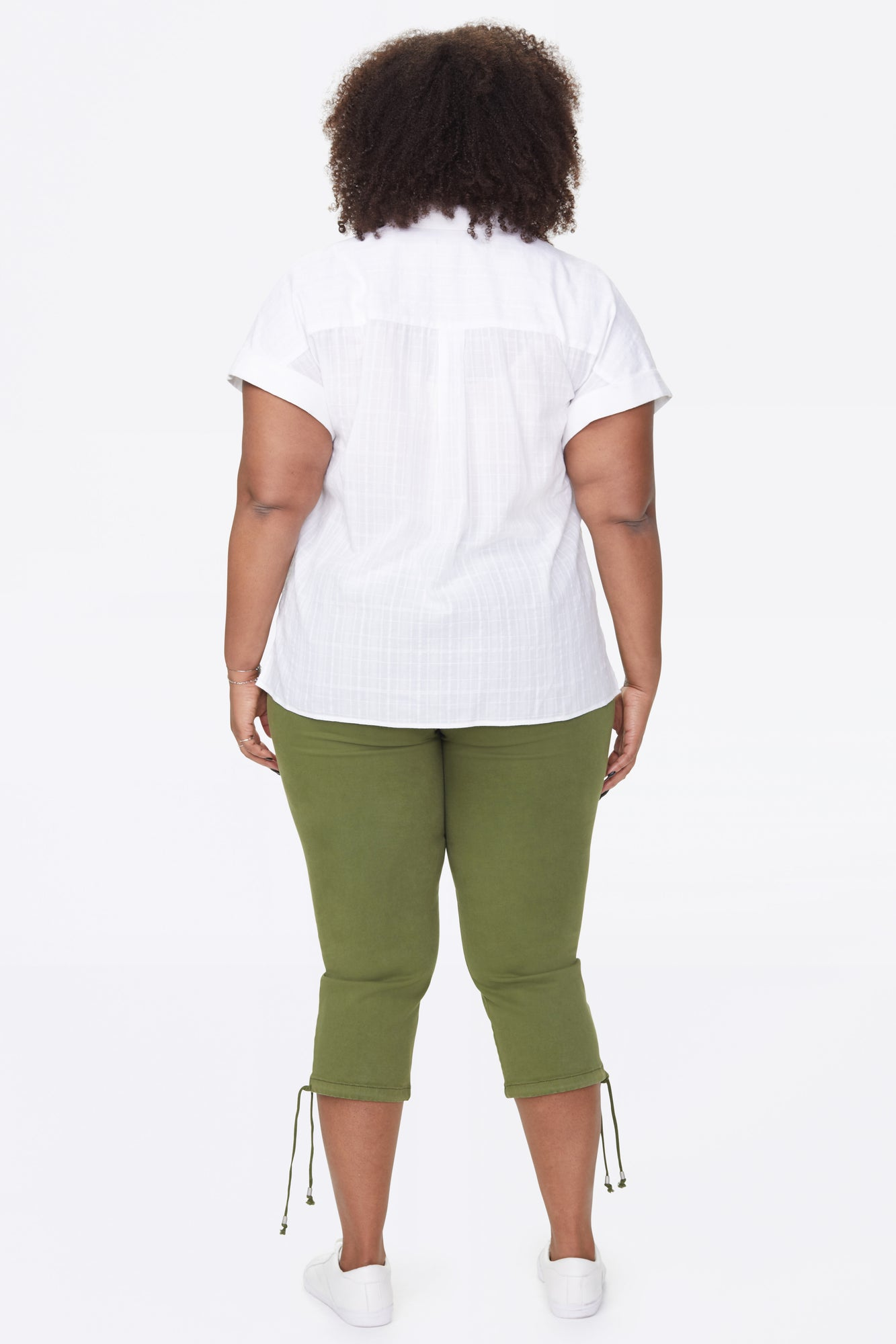 Camp Shirt In Plus Size - PRECIOUS PLAID