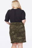 Jean Skirt In Plus Size - CAMO