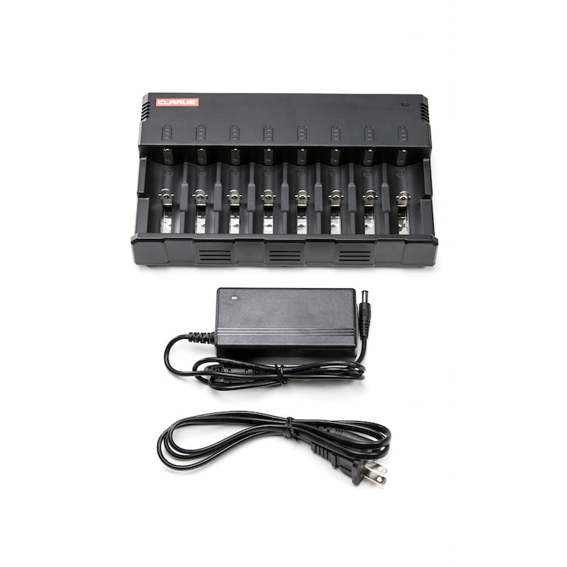 8 BATTERY 18650 LI-ION CHARGER