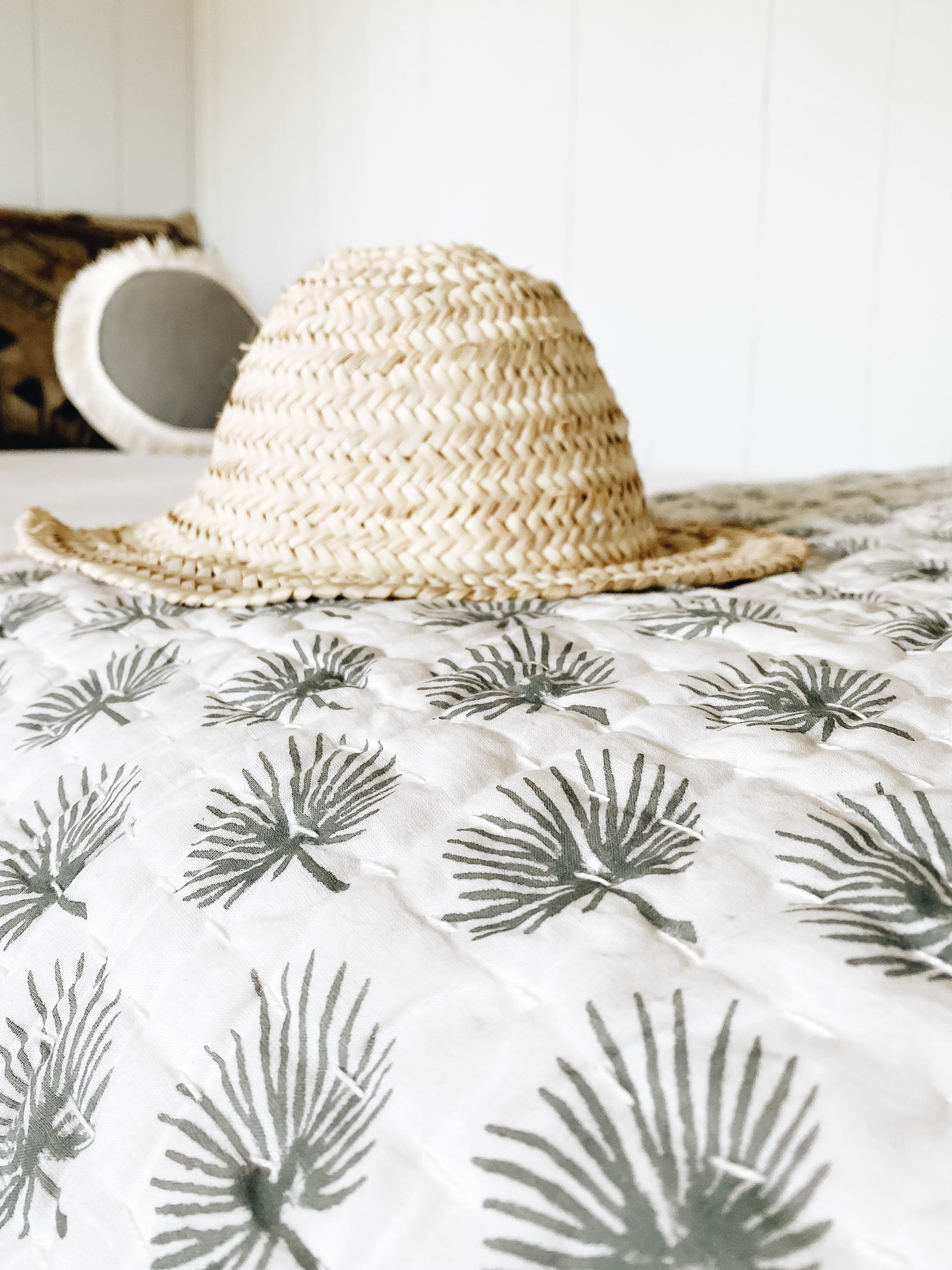 Fan Palm Blanket