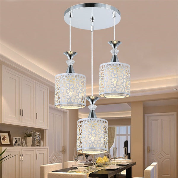 Modern Flower Petal Ceiling Light LED Pendant Lamp