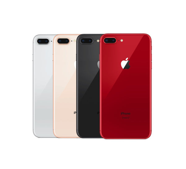 Apple iPhone 8 Plus 256GB All Colors Refurbished AT&T T-Mobile Metro PCS Cricket Wireless Factory GSM Unlocked Smartphone