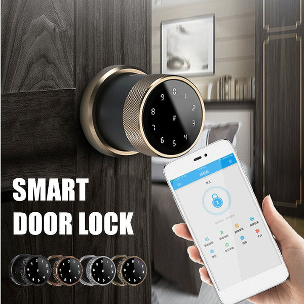 Smart Digital Door Lock Battery Powered APP Touch Password