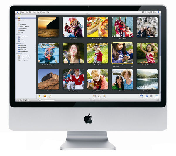 Apple iMac 20 inch - Ma877ll/a - 2.4Ghz 4GB Ram 1TB HDD - Late 2007 (Refurbished)
