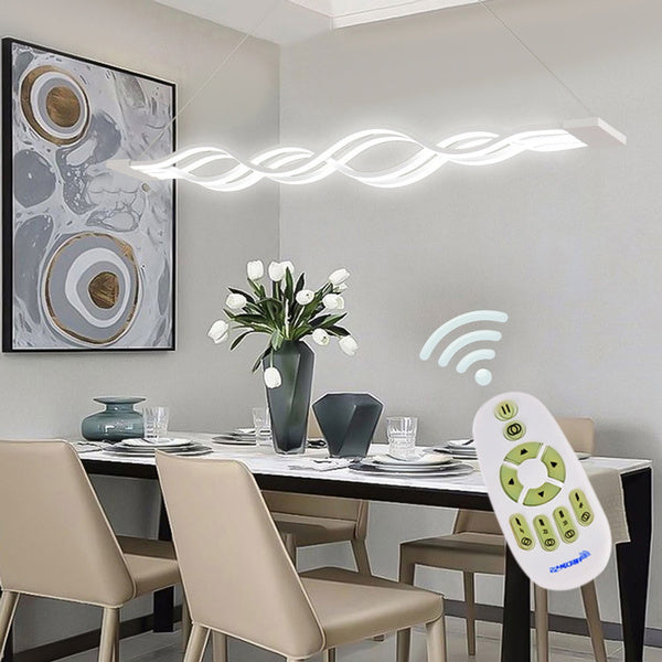 Noodle shape Dimmable Ceiling Lamp Pendant Light