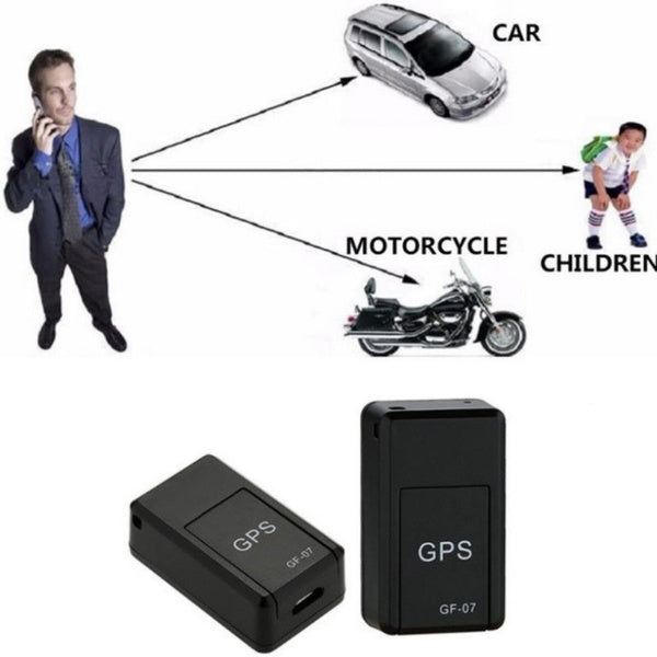 2020 GF-07 Mini GPS Real Time Car Locator Tracker Magnetic GSM/GPRS Tracking Device Spy Gps Locator System for Car Motorcycle Truck Kids Teens Old