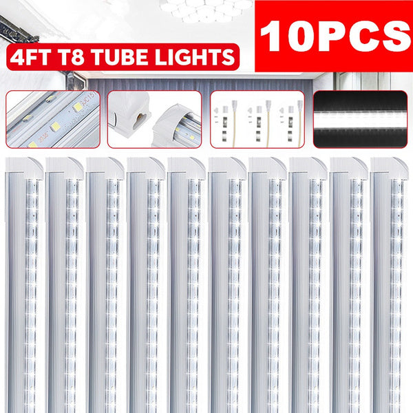 V Shape High Output Plug in Warehouse Garage Lights Lighting Linkable