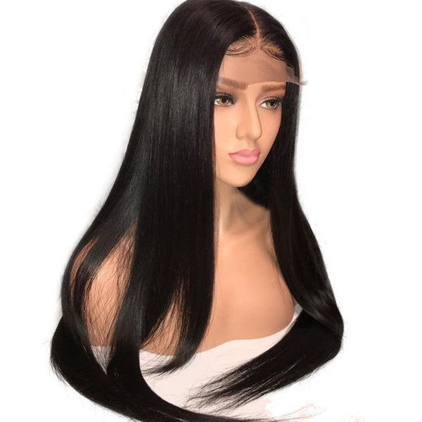 4*4 Lace Closure Human Hair Wigs For Woman