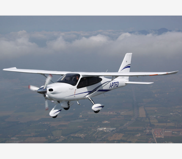 CCAR-23 SINGLE PISTON ENGINE 4 SEATERS HIGH WING AIRCRAFT For TECNAM P2010