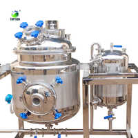 100L Stainless steel CBD Filtration Crystallization Reactor