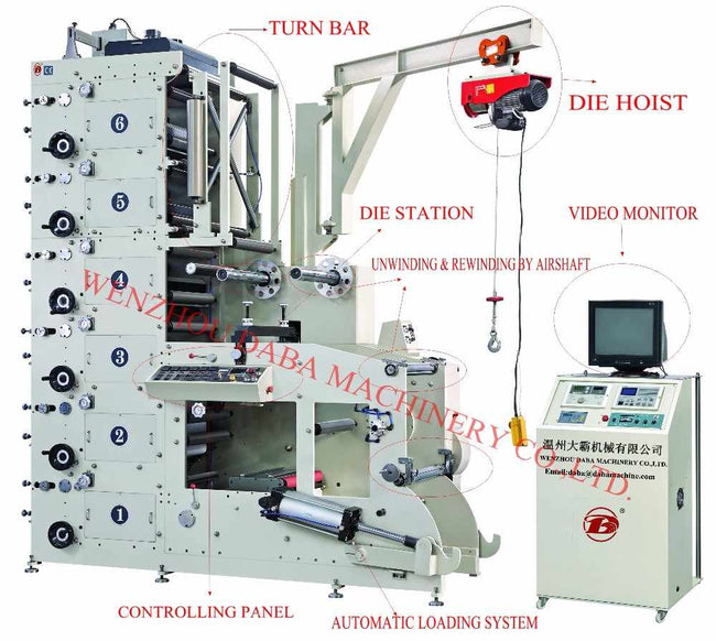 DBRY-320 currency printing machine
