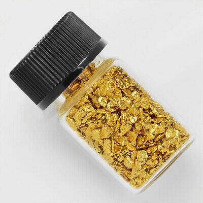 1 Gram Alaska Natural Gold Nuggets with BOTTLE
