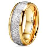King Will Meteor™ 14K Gold Wedding Band - Plain