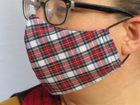 Dress Stewart Tartan Face Mask