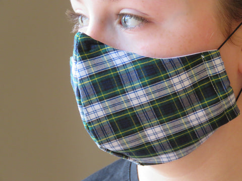 Gordon Tartan Face Mask