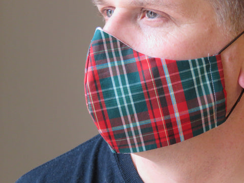 New Brunswick Tartan Face Mask