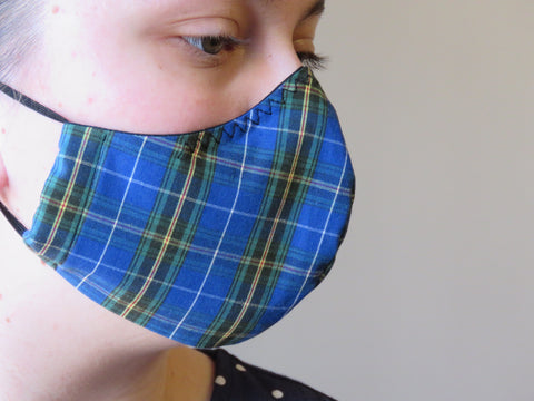 Nova Scotia Tartan Face Mask
