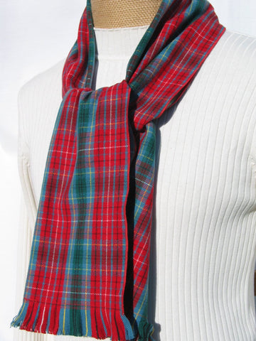 Beautiful British Columbia Tartan Scarf-Taylors Tartans