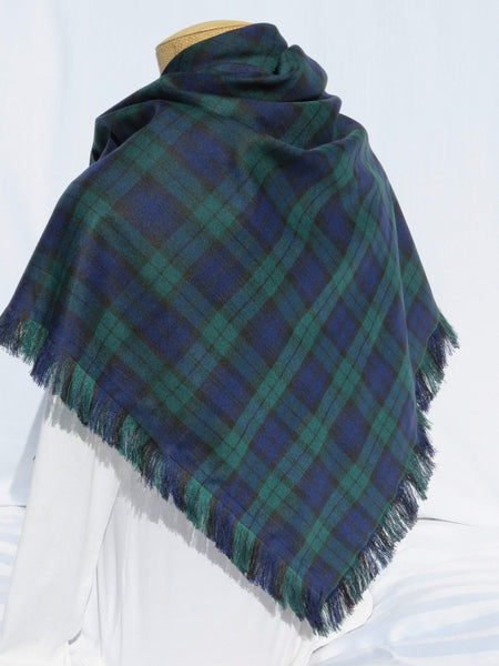 Black Watch tartan shawl - Taylors Tartans