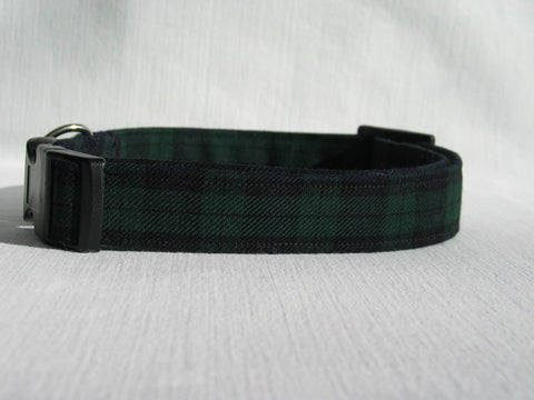 Black Watch Tartan Dog Collar-Taylors Tartans