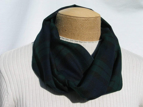Black Watch Tartan Infinity Scarf-Taylors Tartans