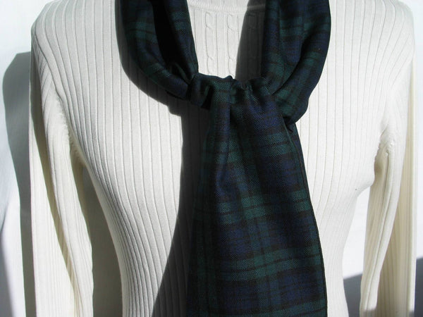 Black Watch Tartan Scarf-Taylors Tartans