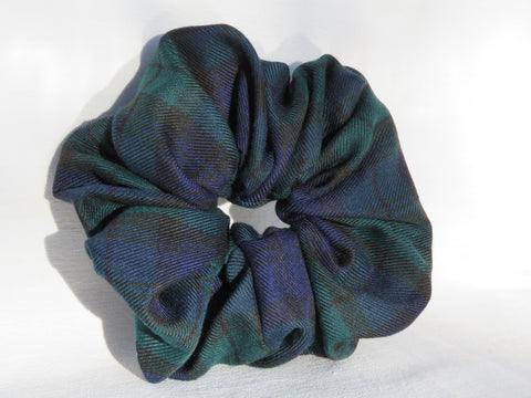 Black Watch Tartan Scrunchie-Taylors Tartans